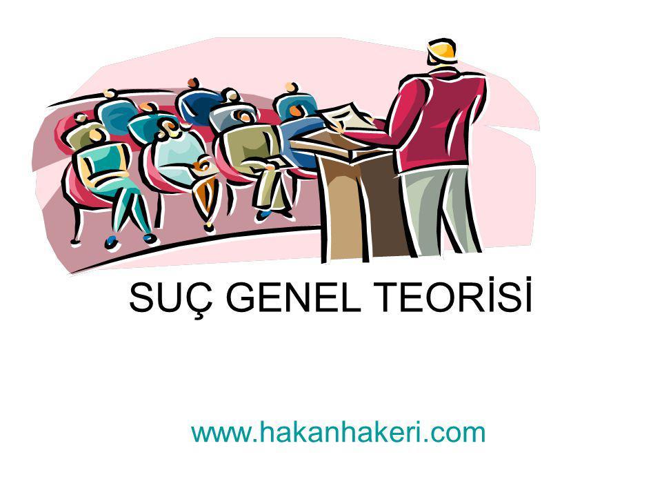 SUÇ GENEL TEORİSİ www.hakanhakeri.com