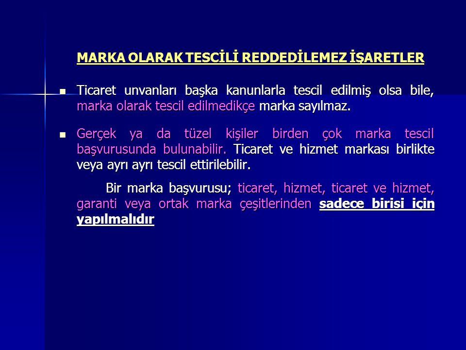 MARKA TESCİLİ  Marka tescil ettirmek isteyen kimse şahsen ya da marka vekili aracılığıyla Türk Patent Enstitüsü Başkanlığına elden veya posta yoluyla başvurur.
