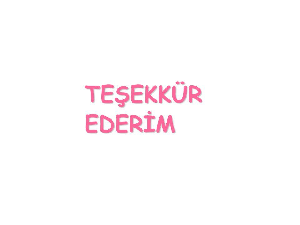 TEŞEKKÜREDERİM