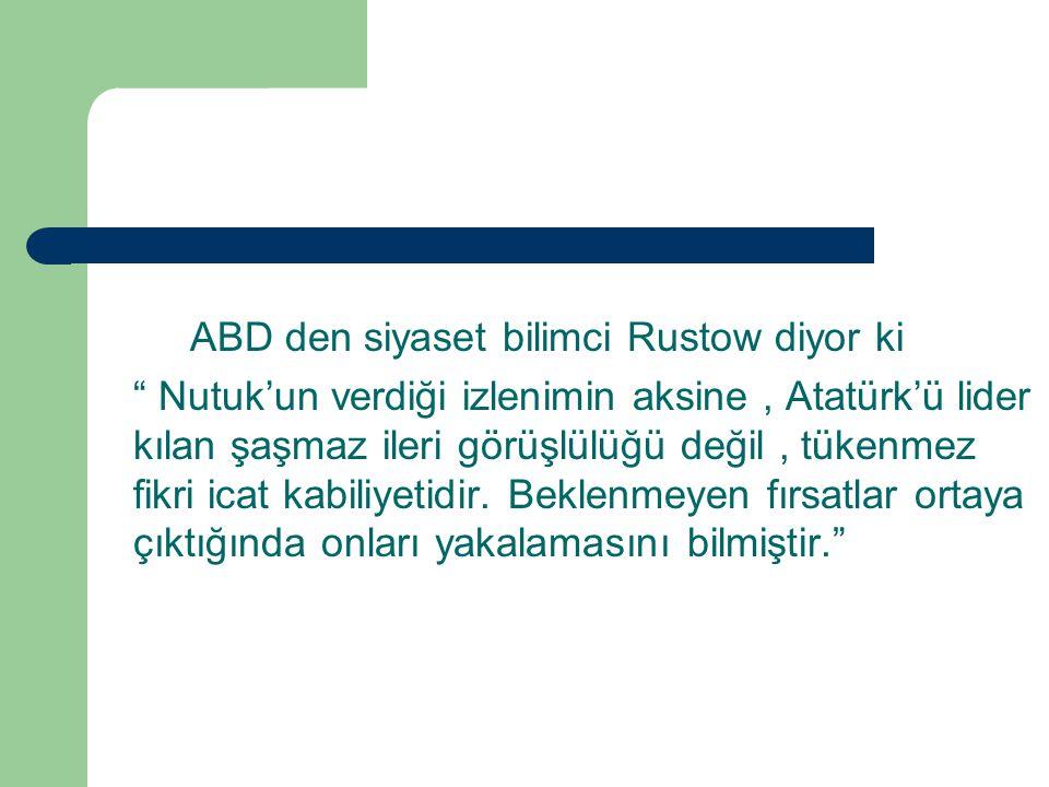 BİR- ÇALIŞKAN,AKILCI VE CESUR OLMAK 1950 yılında Afet inan, Atatürk ün bazı karakter özelliklerini şu şekilde sıralamıştır 1.Felâket karşısında soğukkanlılık.