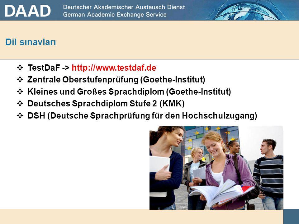 Dil sorunu... Almanca bilmiyorum. Almanya'da dil eğitimi alamaz mıyım...? • Almanya'da bulunan Üniversitelerin eğitim dili genel olarak Almanca'dır. •