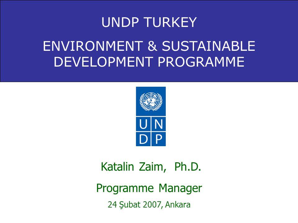 Bahar Ubay •GEF İklim Değişikliği Projesi, Proje Yard.