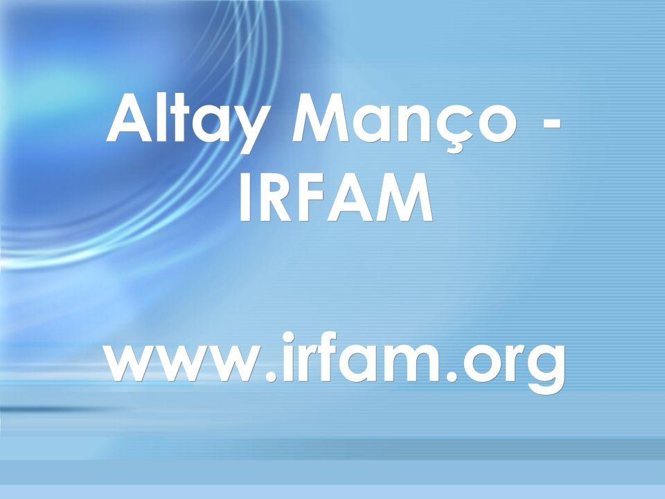 Altay Manço - IRFAM www.irfam.org