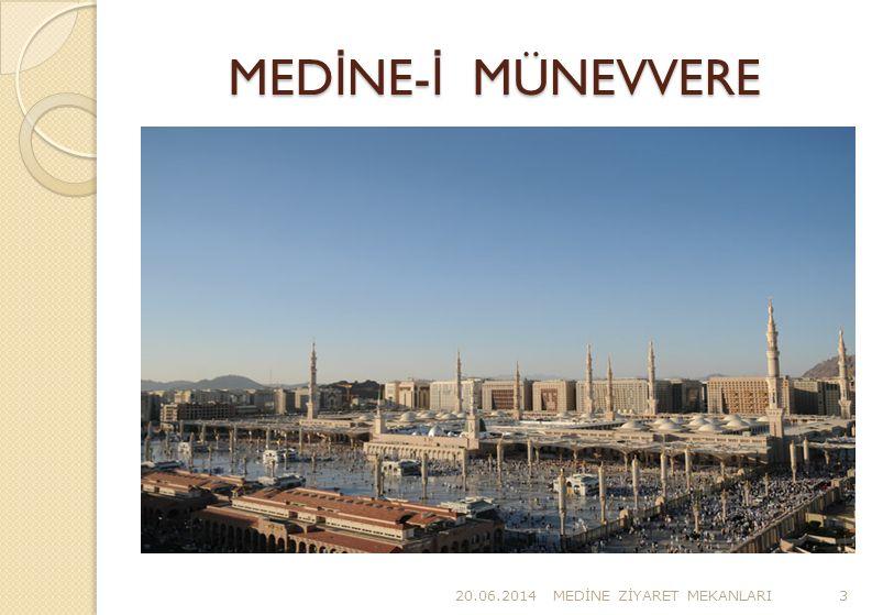 ZULHULEYFE M İ KAT MESC İ D İ  Medine lilerin ve Medine üzerinden gelen hacıların mikâtı olan Zülhuleyfe mikâtının mescididir.