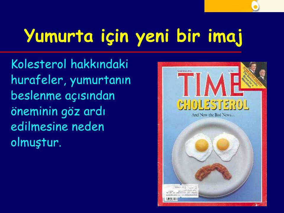 Yumurta için yeni bir imaj Kolesterol hakkındaki hurafeler, yumurtanın beslenme açısından öneminin göz ardı edilmesine neden olmuştur.