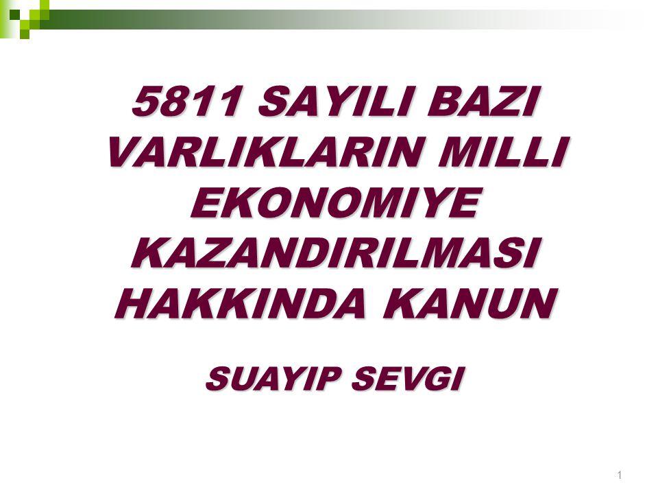 Gelir veya kurumlar vergisi mükelleflerince sahip olunan ve Türkiye'de bulunan ancak 01.10.2008 tarihi itibarıyla işletmelerin özkaynakları içinde yer almayan aynı türden varlıklar,