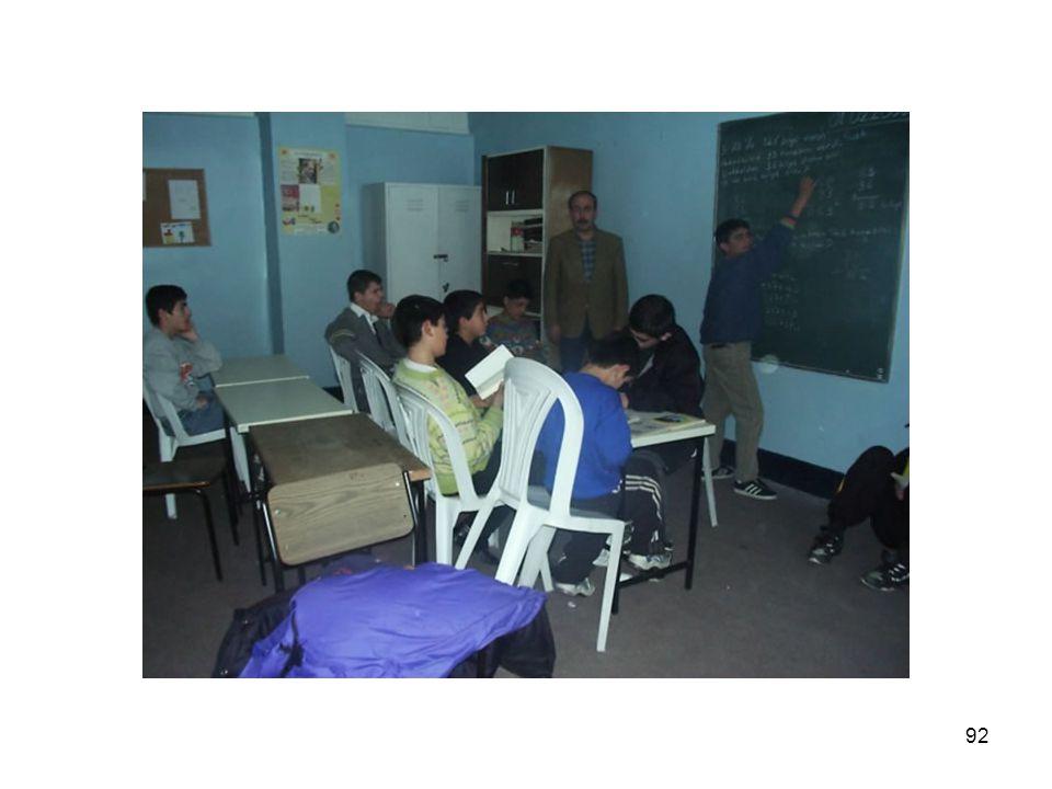 91 YELDEĞİRMENİ ÇOCUK VE GENÇLİK MERKEZİ EĞİTİM ÇALIŞMALARI  I. Kademe Eğitim Programı Sertifikası Alan: 57  II. Kademe Eğitim Programı Sertifikası