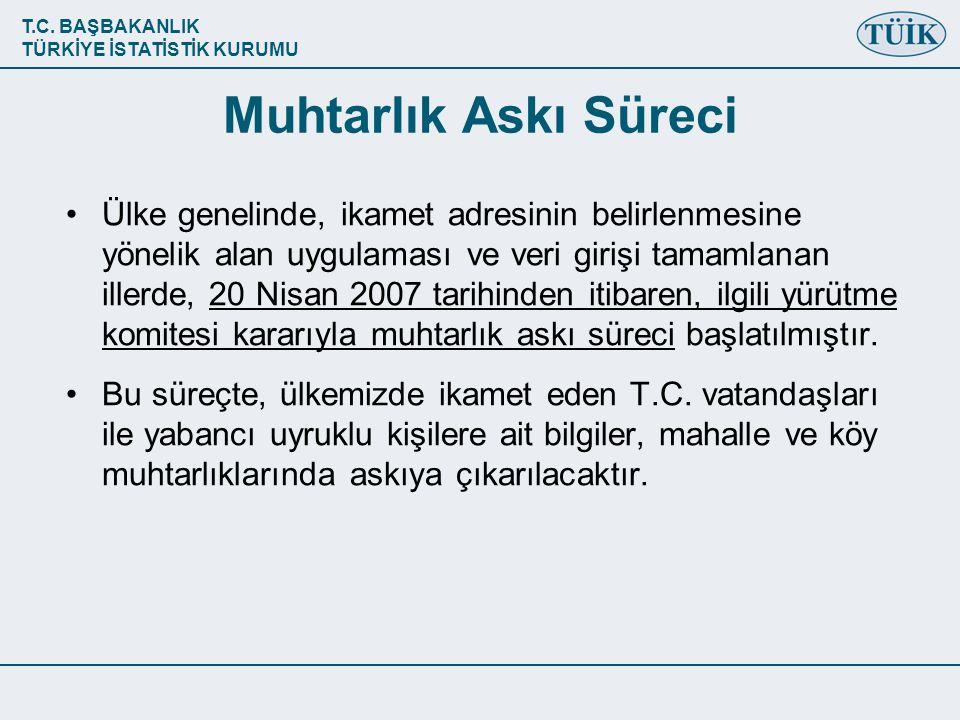 T.C.BAŞBAKANLIK TÜRKİYE İSTATİSTİK KURUMU IV.