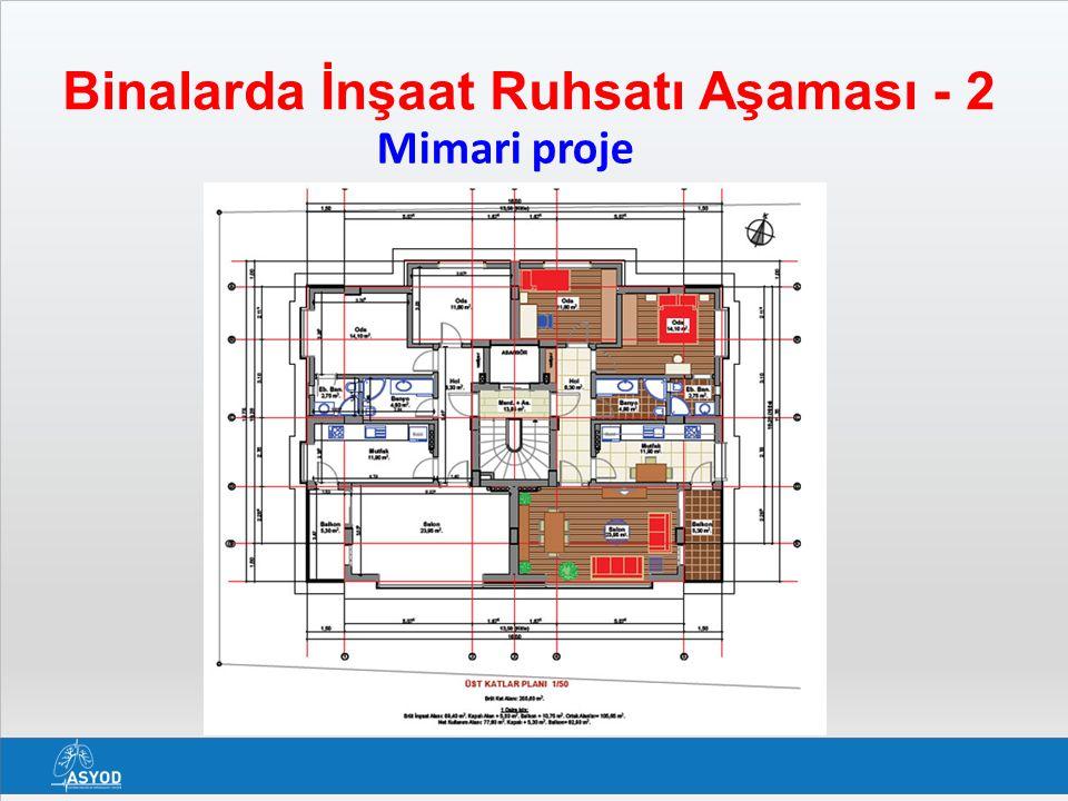 Binalarda İnşaat Ruhsatı Aşaması - 2 Mimari proje