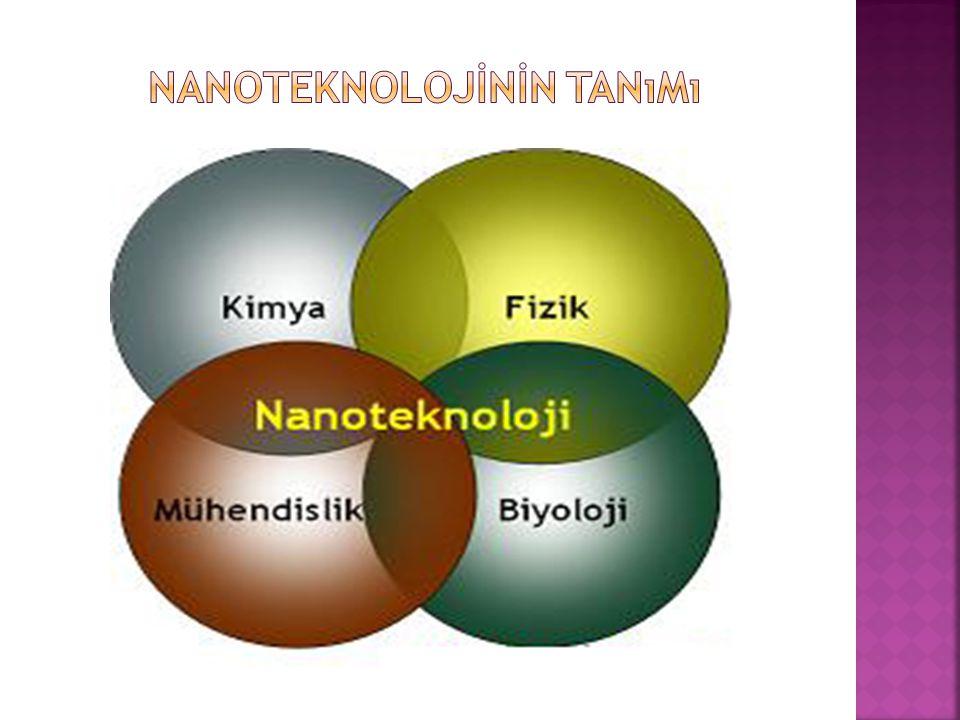  Nanoteknolojinin 2025 yılı itibariyle hayatımızı büyük ölçüde etkileyeceği düşünülmektedir.