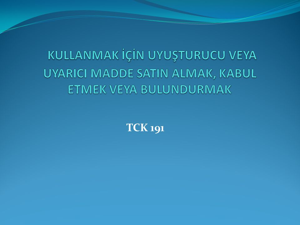 TCK 191