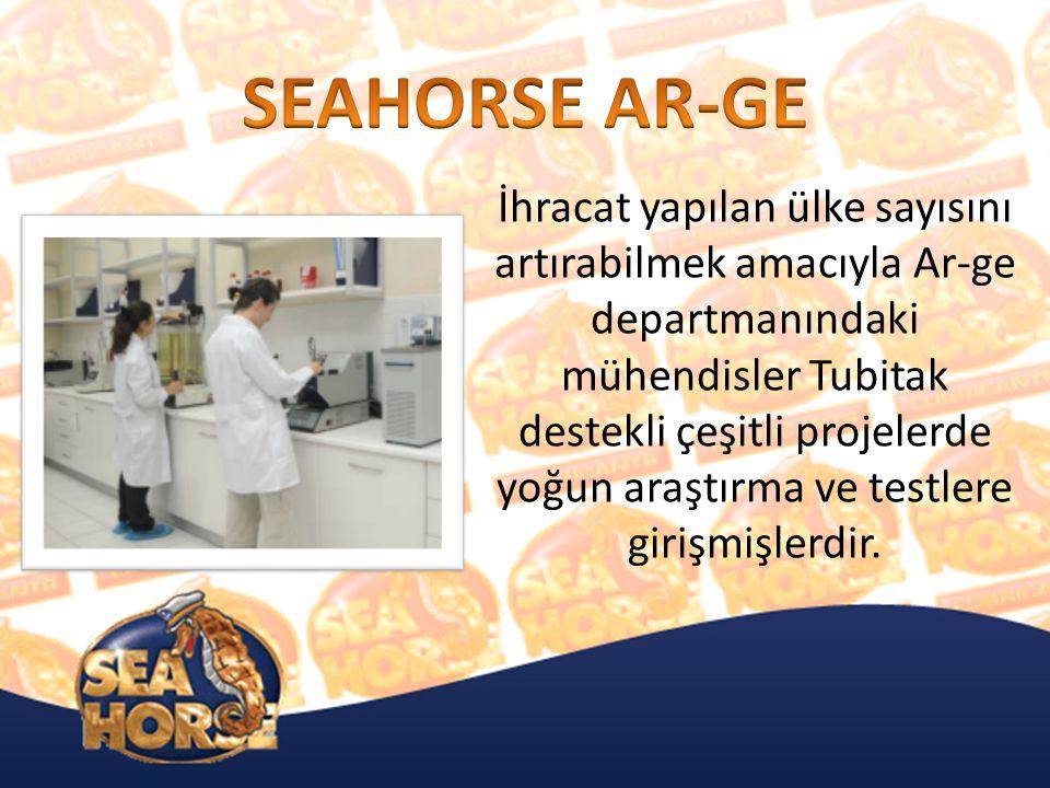 İhracat yapılan ülke sayısını artırabilmek amacıyla Ar-ge departmanındaki mühendisler Tubitak destekli çeşitli projelerde yoğun araştırma ve testlere girişmişlerdir.