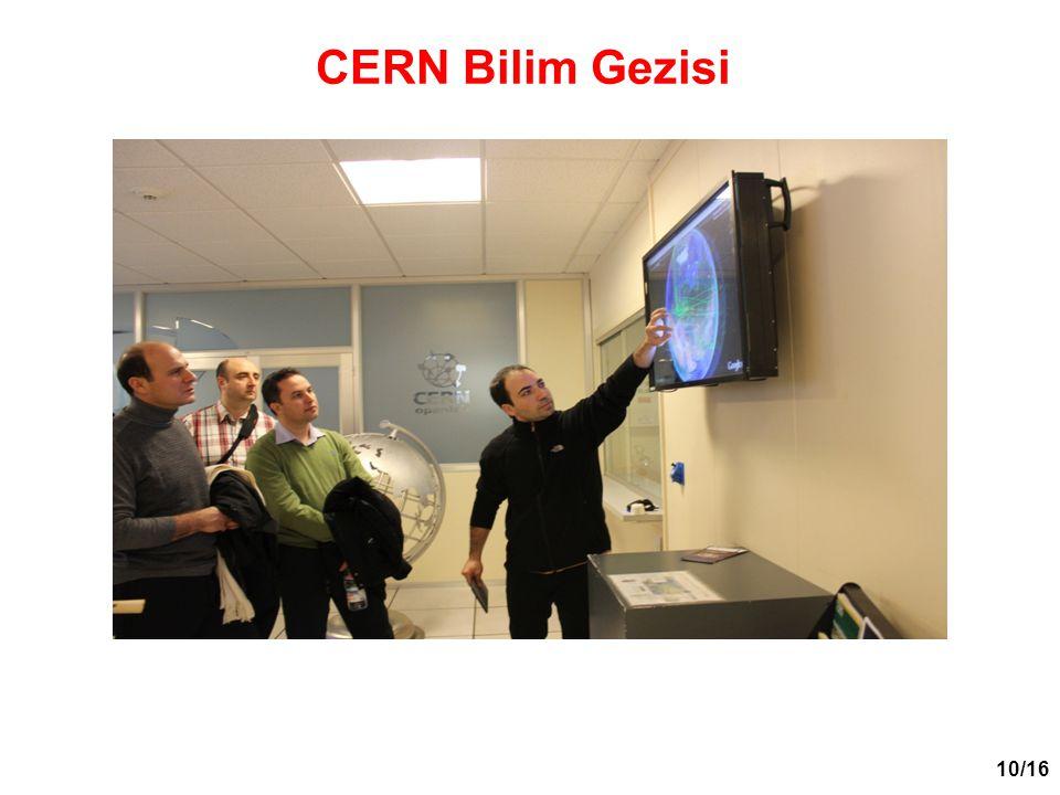 10/16 CERN Bilim Gezisi