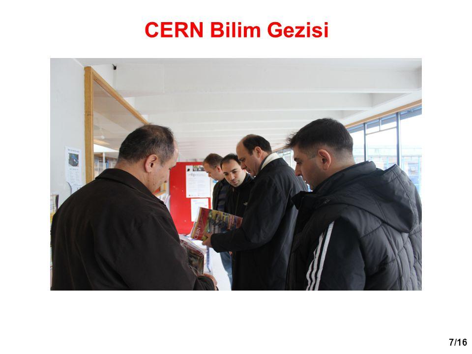 8/16 Skydeep ve Burç artık CERN de. CERN Bilim Gezisi
