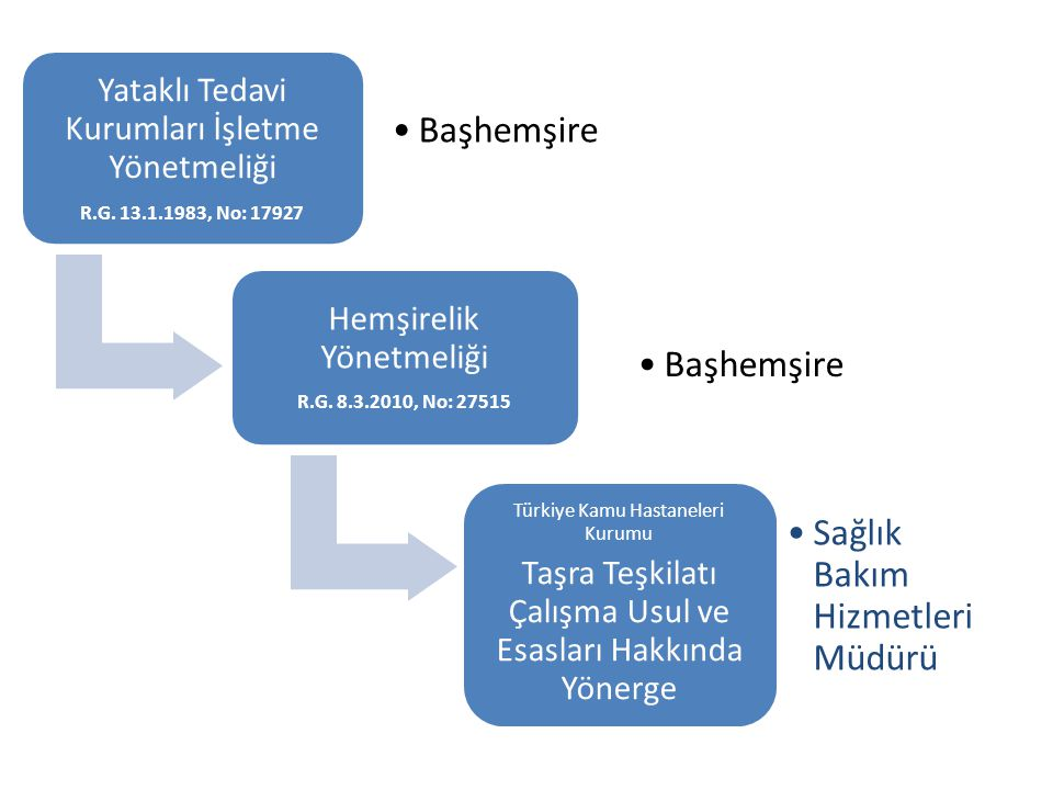Yataklı Tedavi Kurumları İşletme Yönetmeliği R.G.