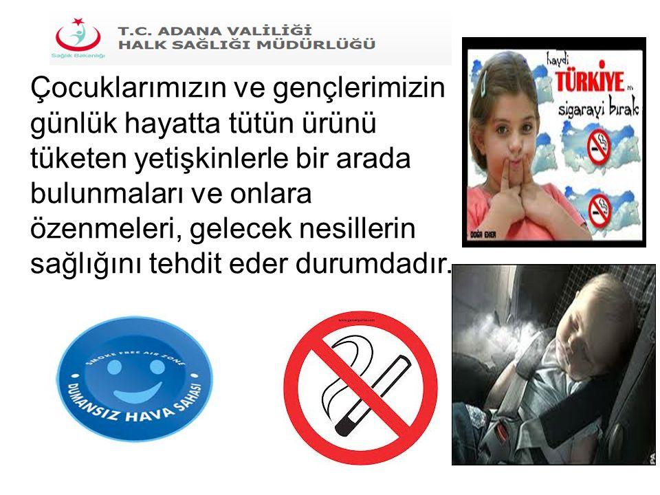 Bilindiği gibi kişileri ve gelecek nesilleri tütün ürünlerinin zararlarından korumak ve herkesin en temel haklarından biri olan temiz hava soluyabilmesini sağlamak amacıyla 4207 sayılı Tütün Mamullerinin Zararlarının Önlenmesi ve Kontrolü Hakkında Kanun yürürlüğe konulmuş, 5727 sayılı Kanunla da önemli değişiklikler yapılmıştır.