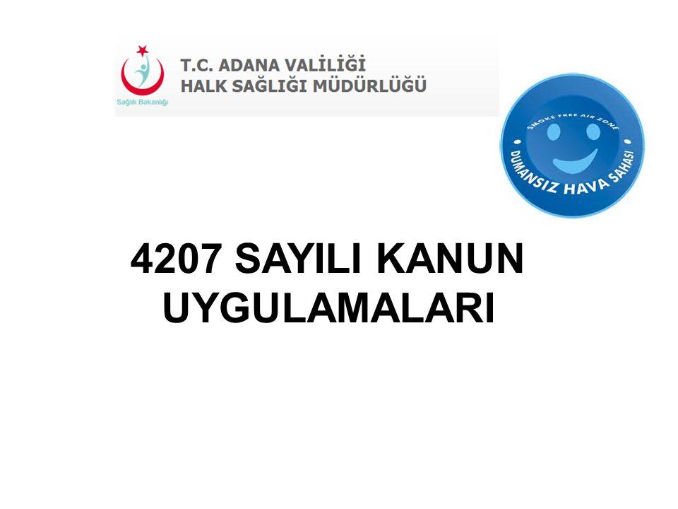 4207 SAYILI KANUN UYGULAMALARI