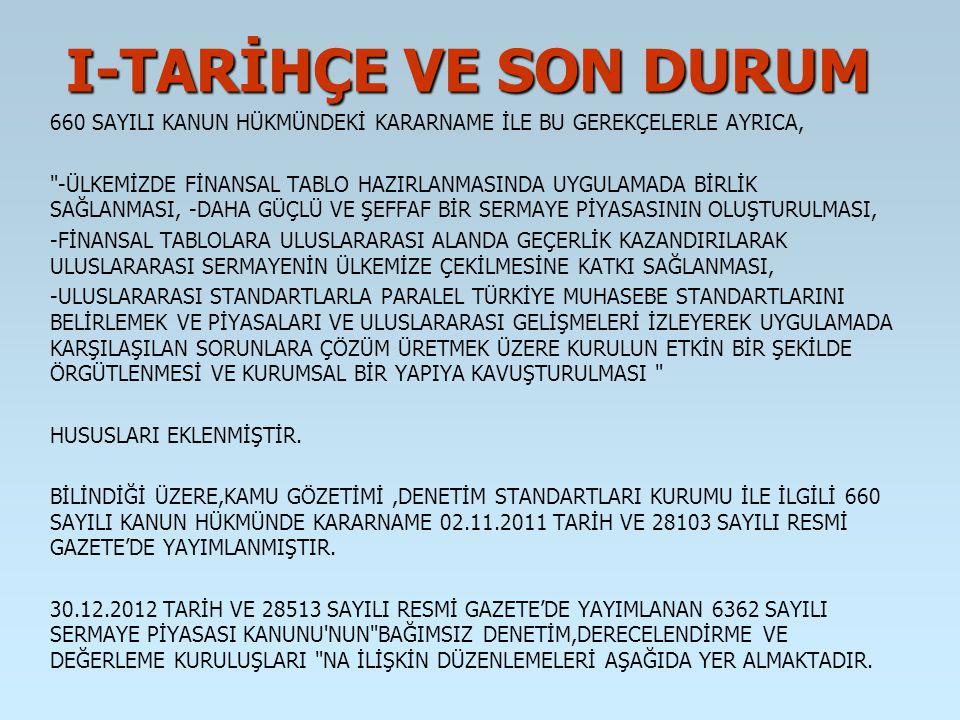 ESKİ ŞEKİLYENİ ŞEKİL (1) TÜRKİYE MUHASEBE STANDARTLARI KURULU TARAFINDAN BELİRLENEN TÜRKİYE MUHASEBE STANDARTLARI; A) TÜRKİYE MUHASEBE STANDARTLARI, TÜRKİYE FİNANSAL RAPORLAMA STANDARTLARI (TMS/TFRS) VE YORUMLARI İLE, B) KÜÇÜK VE ORTA BÜYÜKLÜKTEKİ İŞLETMELER TÜRKİYE FİNANSAL RAPORLAMA STANDARTLARINDAN (KOBİ/TFRS) OLUŞUR.