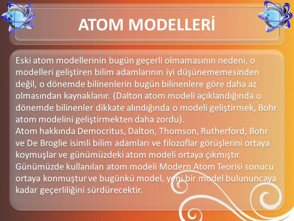 Ancak bu model çok elektronlu atomların davranışlarını açıklayamadığından yaklaşık 12 yıl geçerli kaldı.