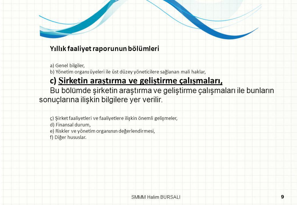 DEFTERLER 20SMMM Halim BURSALI