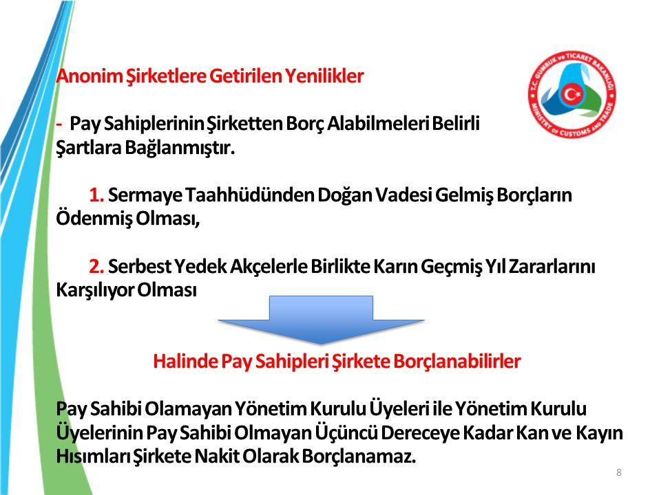 Anonim Şirketlerde Elektronik Ortamda Yapılacak Genel Kurullara İlişkin Yönetmelik Dayanak: 6102 sayılı Türk Ticaret Kanunu'nun 1527 nci maddesi Anonim şirket genel kurul toplantılarına; -Elektronik ortamda katılma, - Öneride Bulunma, - Görüş Açıklama, - Oy Kullanmaya İlişkin Usul ve Esaslar Düzenlenmiştir.