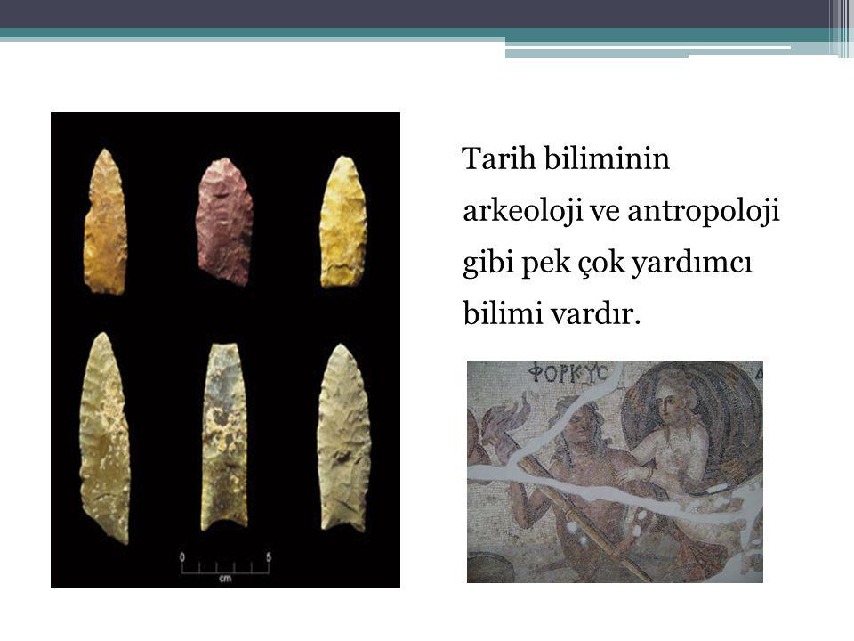 Arkeoloji (Kazıbilim) Kazı gibi yöntemlerle ortaya çıkarılan tarihi yapıtları, kültürel, sanatsal ve tarihsel yönden inceleyen bir bilimdir.