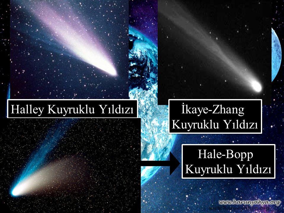Halley Kuyruklu Yıldızı İkaye-Zhang Kuyruklu Yıldızı İkaye-Zhang Kuyruklu Yıldızı Hale-Bopp Kuyruklu Yıldızı Hale-Bopp Kuyruklu Yıldızı