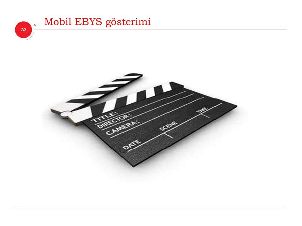12 İnnova Bilişim Çözümleri Mobil EBYS gösterimi