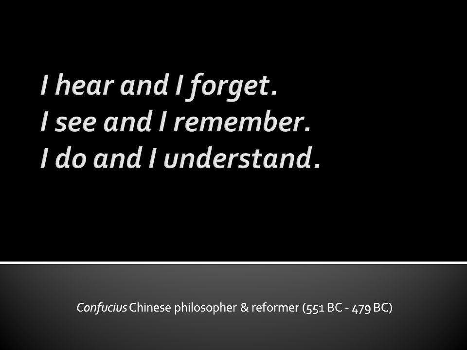 Confucius Chinese philosopher & reformer (551 BC - 479 BC)