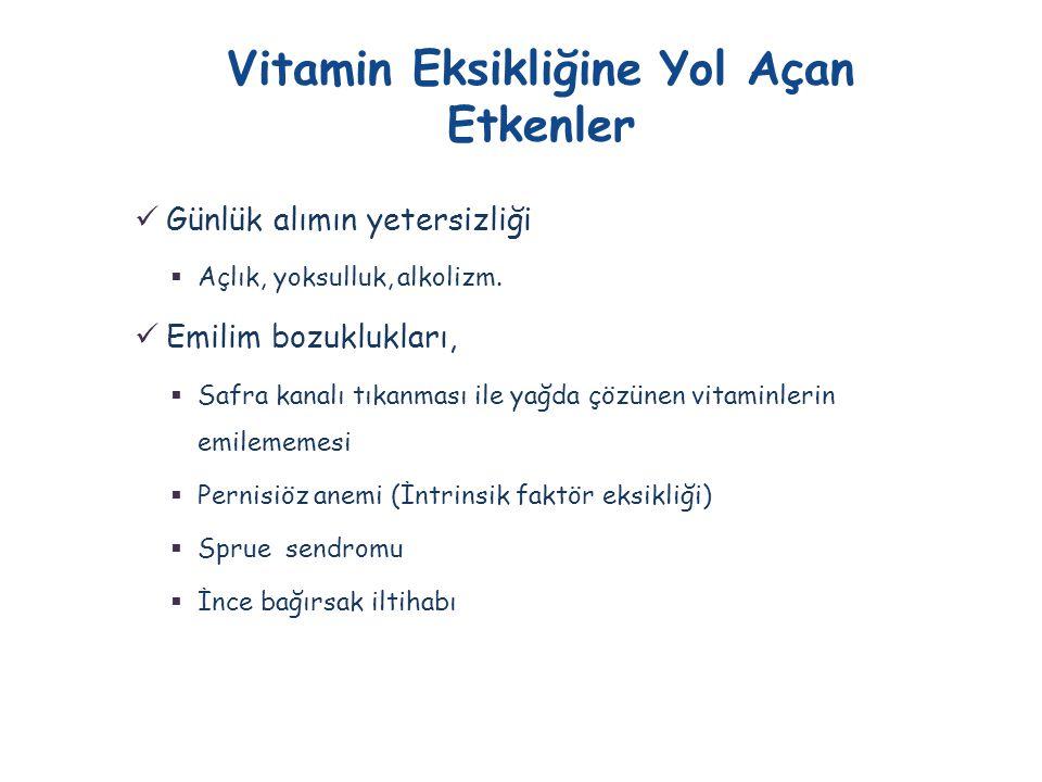  Vitamin D 2 ve D 3 biyolojik olarak aktif değildir.