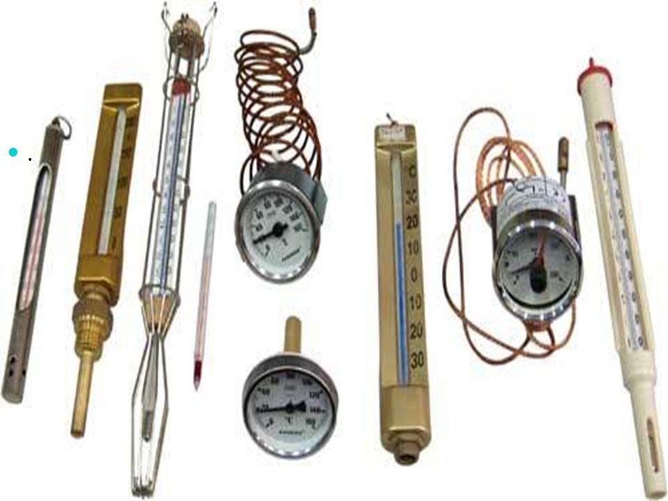 Sıcaklık termometre ile ölçülür. ..