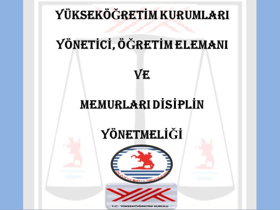 7) Yetki almadan gizli belgeleri açıklamak, 8) Siyasi ve ideolojik eylemlerden arananları görev mahallinde gizlemek, 9) Yurt dışında Devletin itibarını düşürecek veya görev haysiyetini zedeleyecek tutum ve davranışlarda bulunmak, 10) 5816 sayılı Atatürk Aleyhine İşlenen Suçlar Hakkındaki Kanuna aykırı fiilleri işlemek, 11) Kanun dışı kuruluşlara üye olmak, bu kuruluşlarda faaliyet yapmak veya yardımda bulunmak, 12) Yükseköğretim kurumlarının çalışmalarını sekteye uğratacak nitelikte bir disiplin suçuna üniversite öğrencilerini veya mensuplarını teşvik veya tahrik etmek,