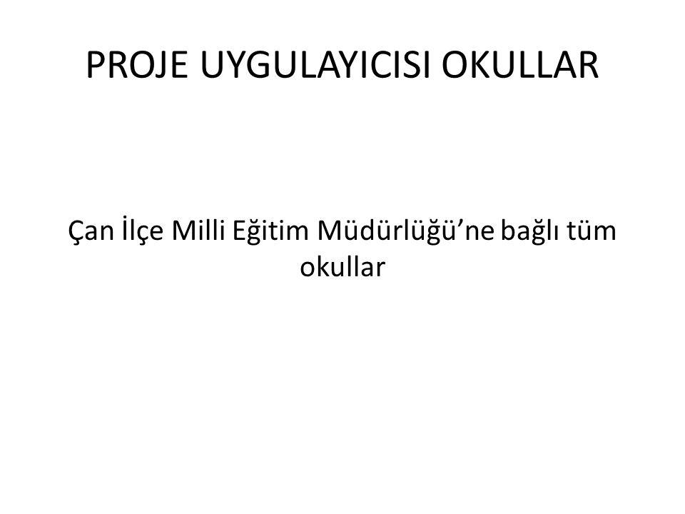 PROJENİN SÜRESİ Proje 2011-2012 Eğitim Öğretim Yılı 2.