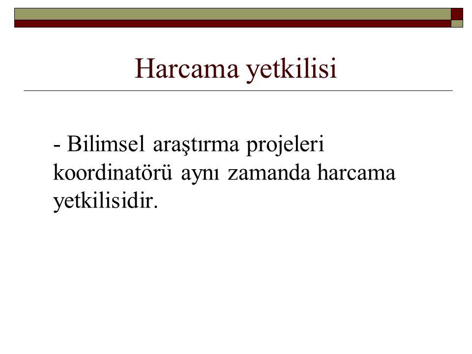 Harcamaların denetimi -2 Bu Esas ve Usuller kapsamında yapılan harcamalar; - Türk Ceza Kanunu açısından suç teşkil eden fiillerin tespiti halinde ilgililer hakkında yükseköğretim kurumu tarafından genel hükümlere göre işlem yapılır.