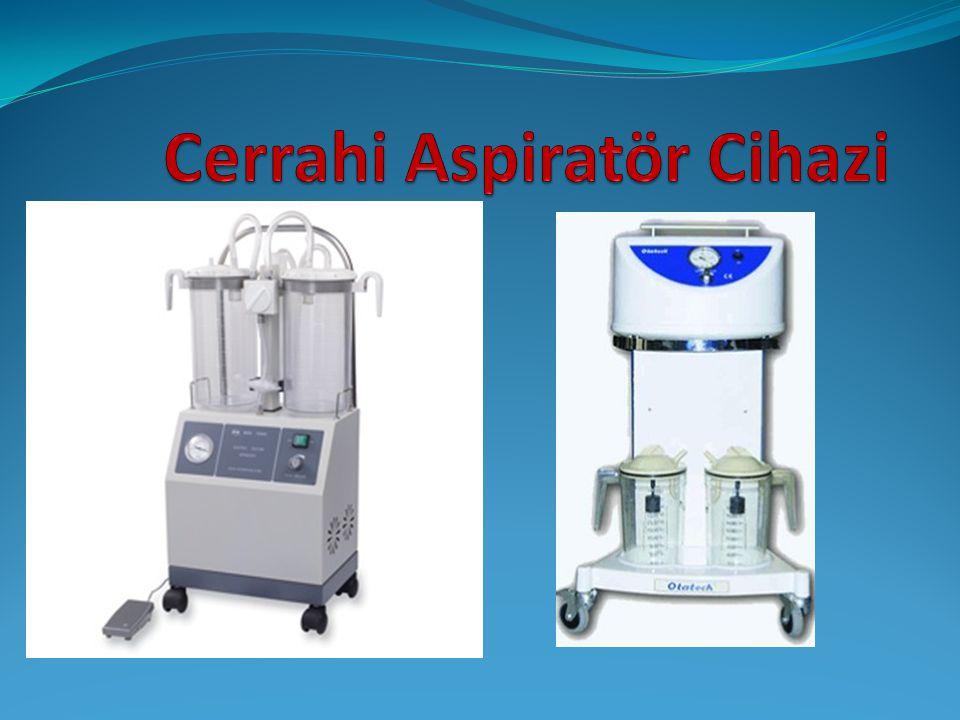 Genel Bilgi  Cerrahi aspiratörlerin çeşitlerine göre özellikleri vardır ve bu özellikler fiyat'a göre değişir.