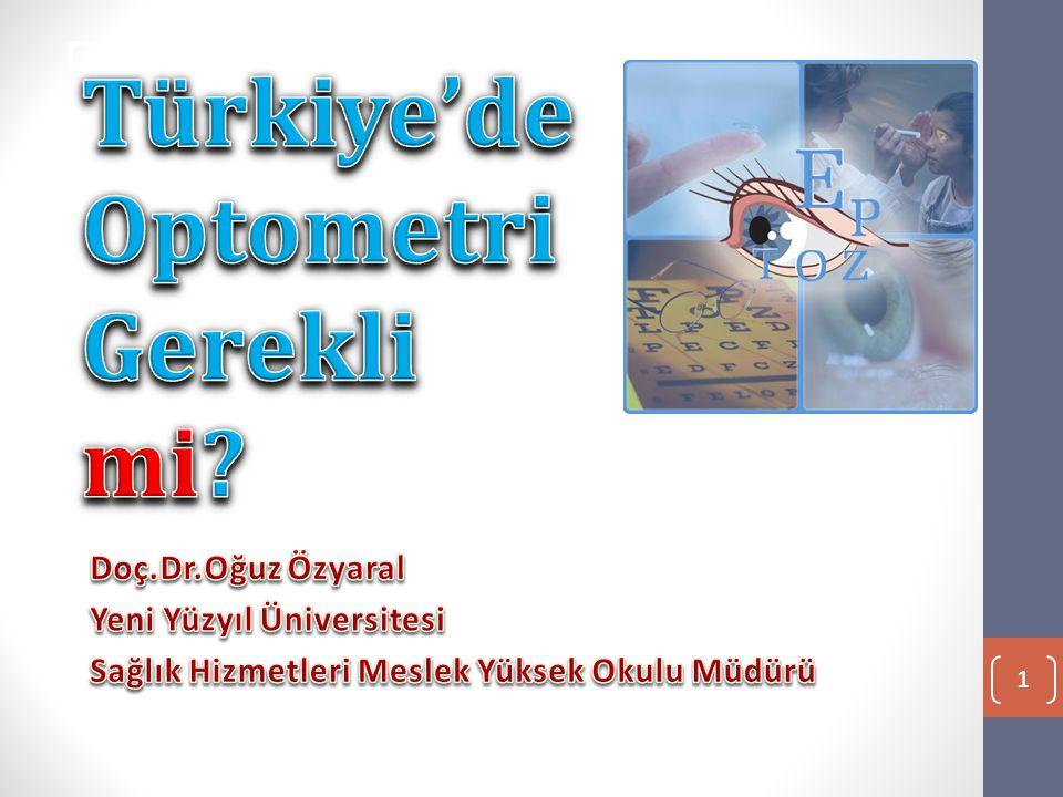 Optometrist Optometrist Kimdir • Göz doktorlarından farklı olarak optometristler, gözlük veya lens ölçüsünü alan uzman kişilerdir.