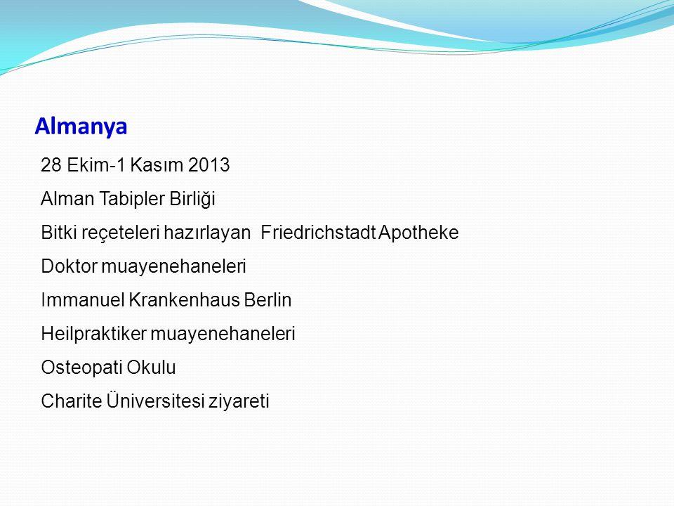 Almanya 28 Ekim-1 Kasım 2013 Alman Tabipler Birliği Bitki reçeteleri hazırlayan Friedrichstadt Apotheke Doktor muayenehaneleri Immanuel Krankenhaus Be