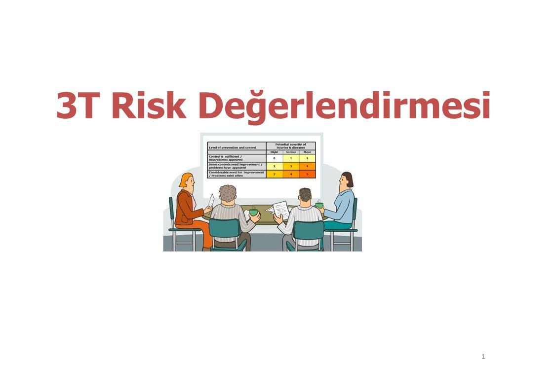 3T Risk Değerlendirmesi 1