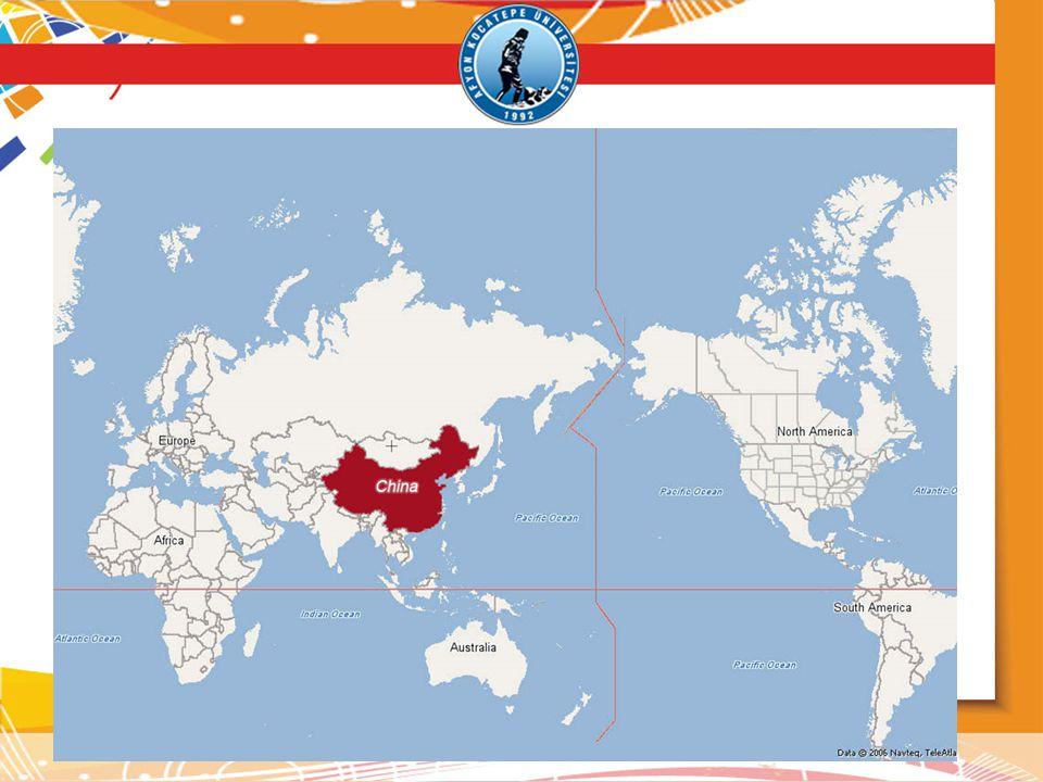 Çin, dünyada ekonomik faaliyetin ilk ortaya çıktığı yerlerden biridir.