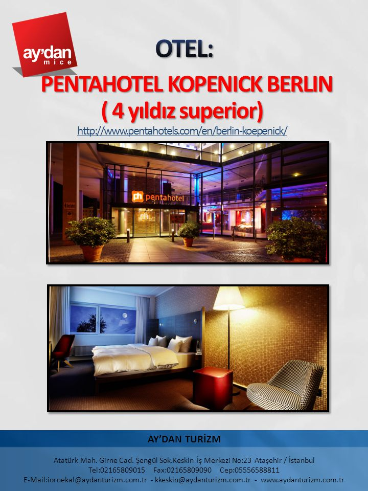 Located on the banks of the Dahme River across from the Koepenick Castle, the pentahotel Berlin-Koepenick offers incredible views of an enchanting area.