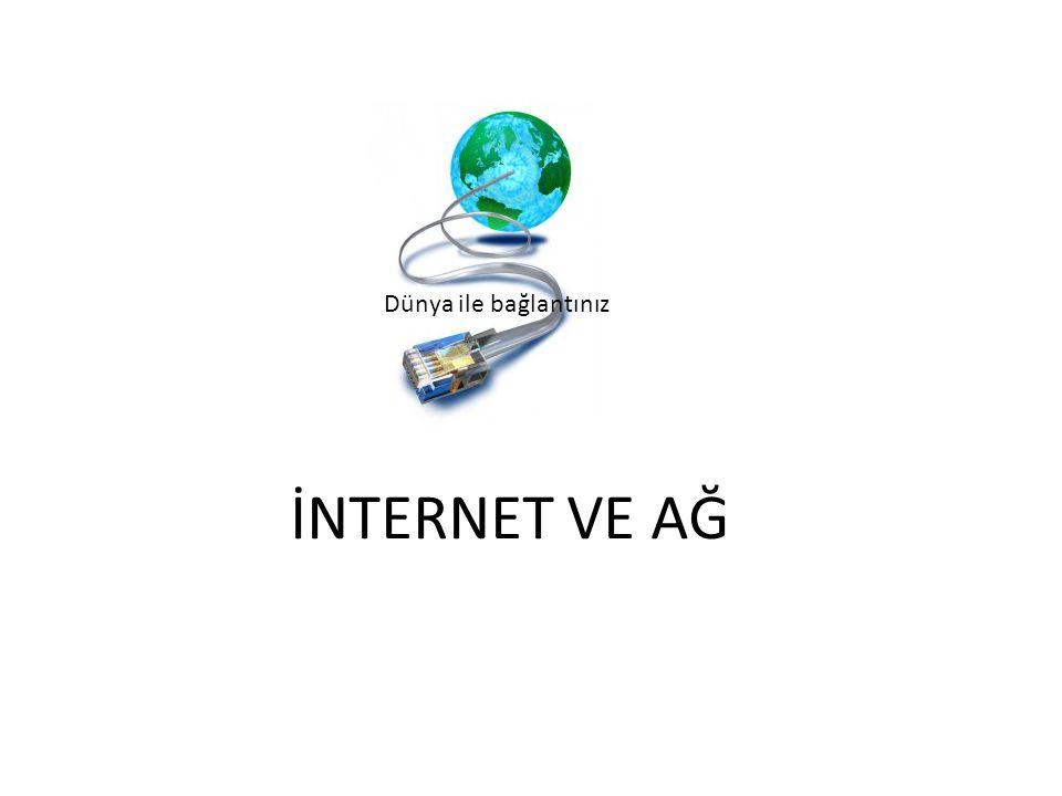 B-M-Ö şemamız İnternet Hakkında BİLDİKLERMİZ • İnternete bağlanmak için telefon hattına ihtiyaç vardır • Cep telefonundun internete bağlanabiliriz • İnternette arama yapmayı • Modem sayesinde internete bağlanırız İnternet Hakkında MERAK ettiklerimiz • Başka bir ülkedeki bilgisayara nasıl bağlanıyorum • Bilgisayar ağı nedir kaç çeşittir • İnternet adresindeki bölümler nelerdir • Alan adı nedir İnternet Hakkında ne ÖĞRENDİK