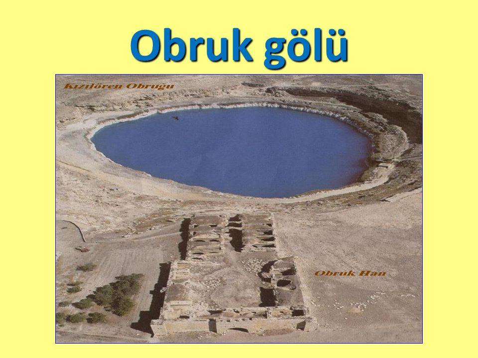 Obruk gölü