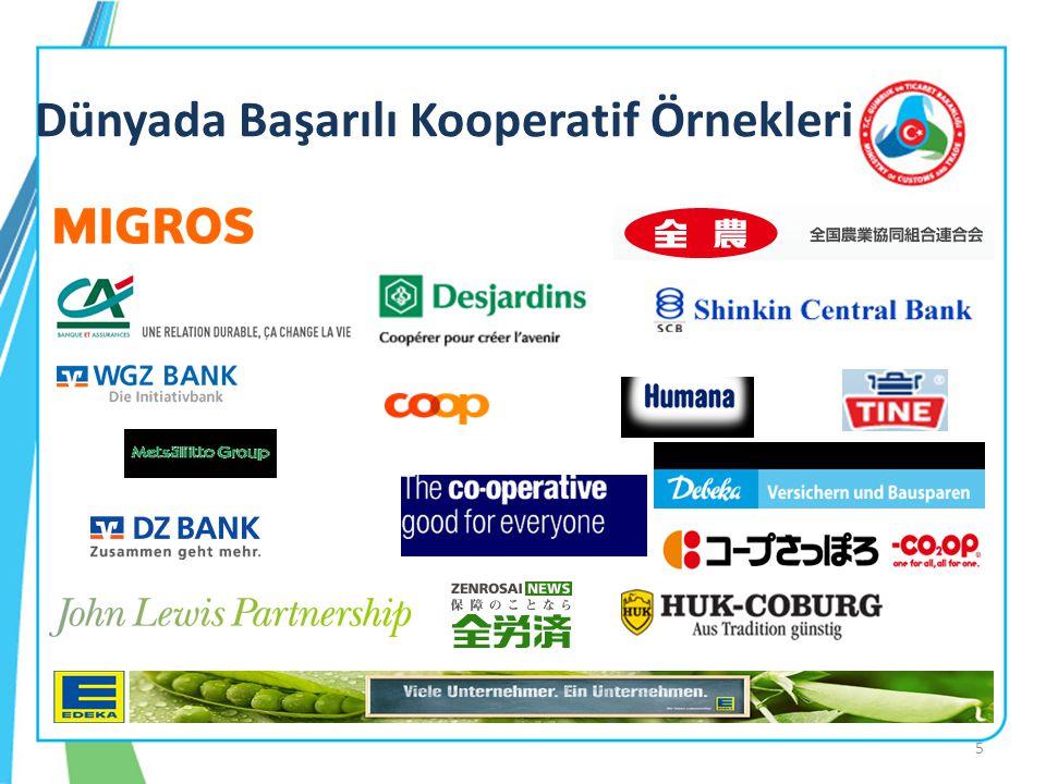 Kooperatifçilikte Devletin Rolü ve Sunulan Hizmetler (4): Günümüzde bazı kooperatif türlerine devlet tarafından finansal destekler verilmekte olup; bu destekler daha çok tarım kesimi ile esnaf ve sanatkârlar tarafından kurulan kooperatiflere yöneliktir.
