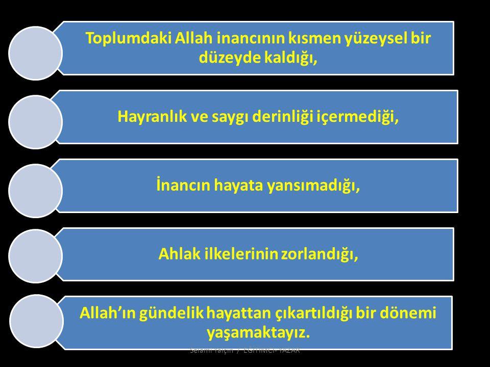 61.Allah'ın Dışında Hayatı ve Ölümü Kim Yaratabilir.