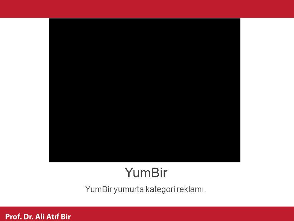 YumBir YumBir yumurta kategori reklamı.