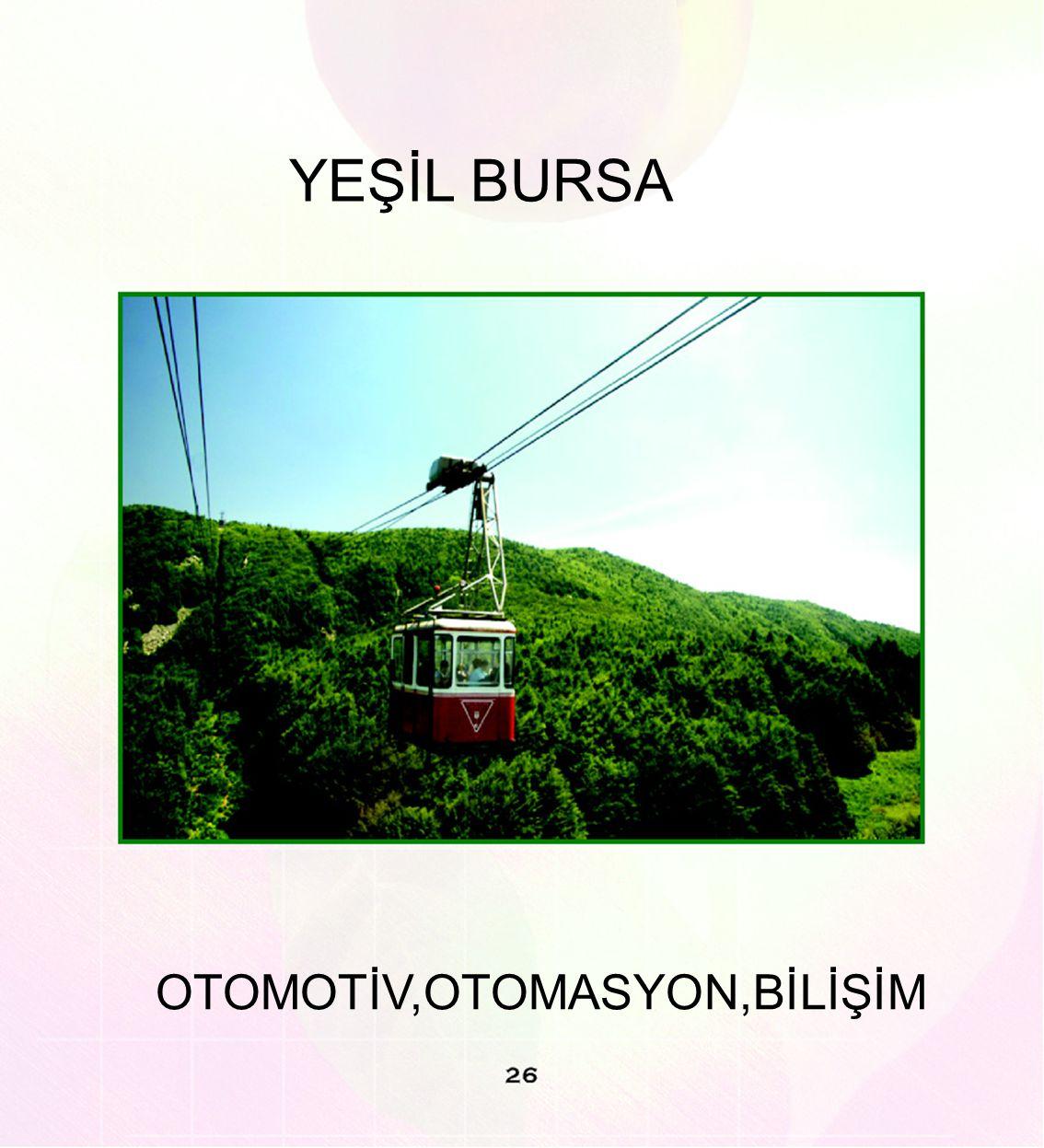 YEŞİL BURSA OTOMOTİV,OTOMASYON,BİLİŞİM