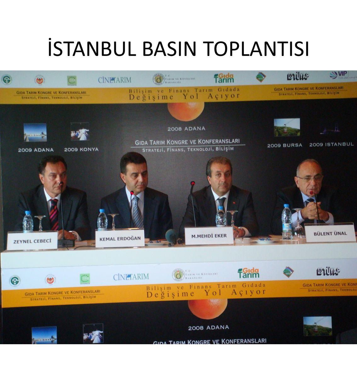 İSTANBUL BASIN TOPLANTISI