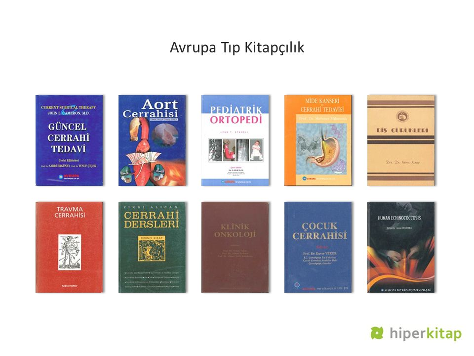 Avrupa Tıp Kitapçılık