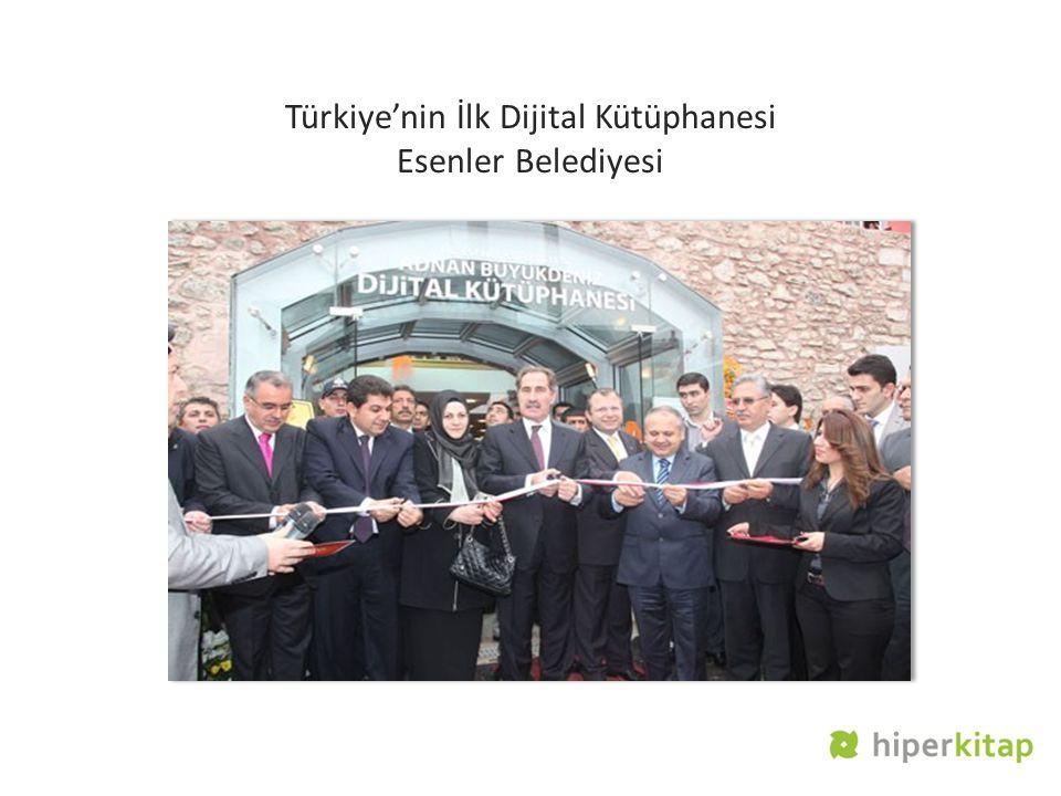 Türkiye'nin İlk Dijital Kütüphanesi Esenler Belediyesi