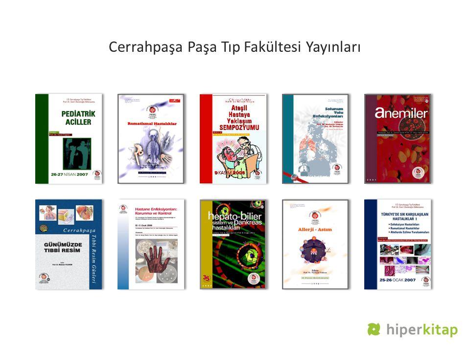 Cerrahpaşa Paşa Tıp Fakültesi Yayınları